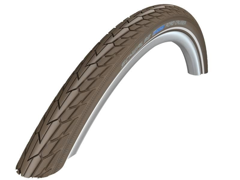 Schwalbe Reifen 28 x 1,75 Road Cruiser Reflex Coffee Green